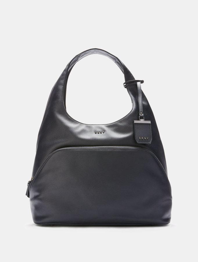 DKNYHeavy Nappa Leather Large Hobo