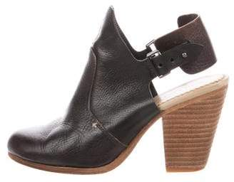 Rag & Bone Leather Slingback Booties