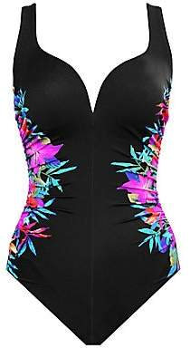 Miraclesuit Swim Women's Genesis Temptress Floral Sweetheart One-Piece Swimsuit