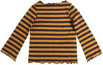 La Stupenderia Striped Cotton Jersey T-Shirt
