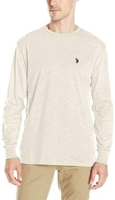 U.S. Polo Assn. Men's Long Sleeve Crew Neck T-Shirt