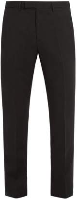 Raf Simons Straight-leg wool trousers