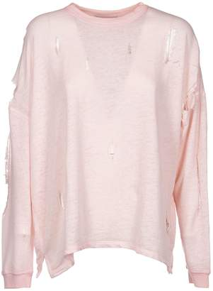 IRO Lyzza Distressed Sweatshirt