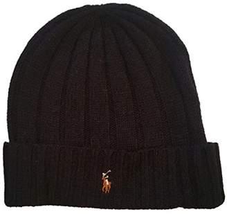 Ralph Lauren Polo Men's Wool Blend Knit Hat
