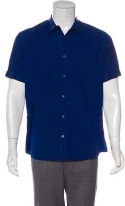 Alexander McQueen Woven Button-Up Shirt