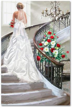 "The Macneil Studio 'Bridal Staircase' Canvas Art - 12"" x 19"""