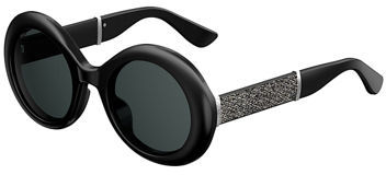 Jimmy Choo Jimmy Choo Wendy Round Metallic Sunglasses
