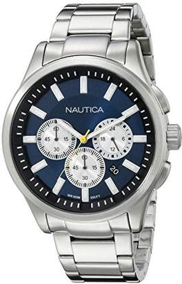 Nautica Men's NAD19533G NCT 17 Analog Display Quartz Blue Watch by