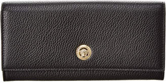 Versace Medusa Continental Leather Wallet