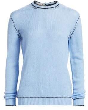 Marni Cashmere Button-Back Sweater