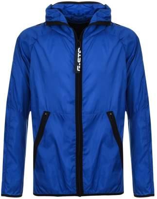 G Star Raw Strett Hooded Jacket Blue