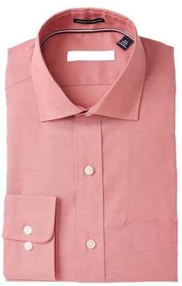 Tommy Hilfiger Solid Regular Fit Non Iron Dress Shirt
