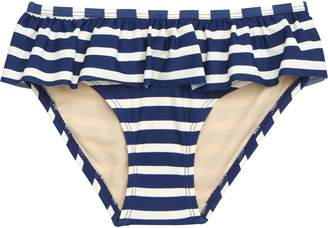 Tea Collection Stripe Ruffle Bikini Bottoms