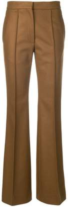 Rochas high-waisted flared trousers