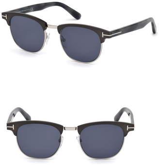 ec589f59debd Tom Ford Gray Men s Sunglasses - ShopStyle