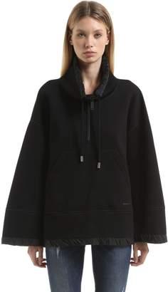 DSQUARED2 Double Viscose Jersey Sweatshirt