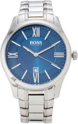 HUGO BOSS 1513034 Silver-Tone Ambassador Watch