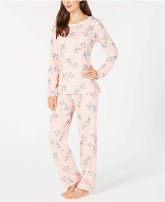 Charter Club Petite Thermal Fleece Pajama Set