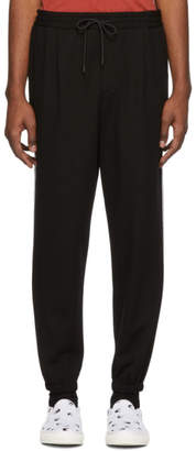 McQ Black Taped Tailored Lounge Pants