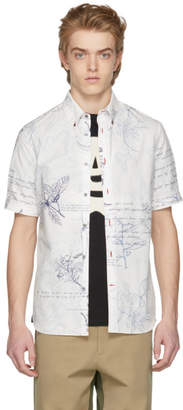 Alexander McQueen White Explorer Shirt