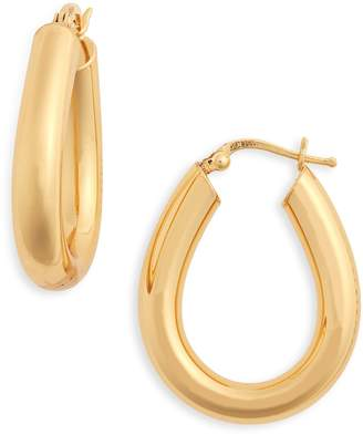 Leith Tube Hoop Earrings