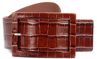 Max Mara Embossed leather belt