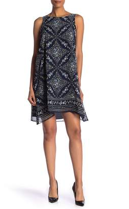 Max Studio Sleeveless Scarf Dress