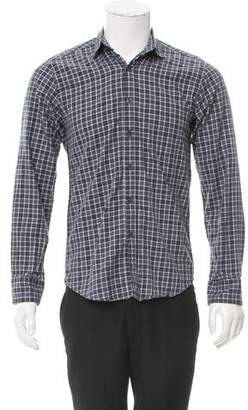 Steven Alan Woven Flannel Shirt