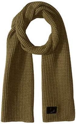 Fred Perry Unisex-Adult's Waffle Knit Scarf