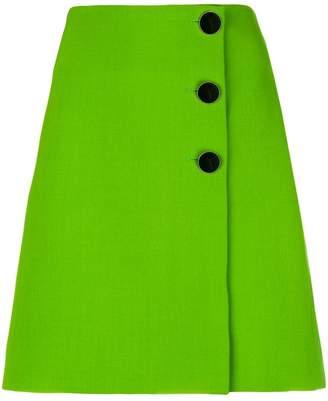 Victoria Beckham Victoria side button skirt