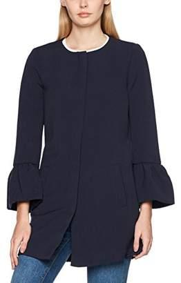 Only Women's Onlchai Frill Sleeve OTW Coat,(Manufacturer Size: Medium)