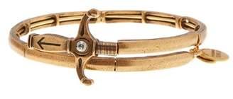 Alex and Ani Crystal Detail Sword Wrap Bracelet