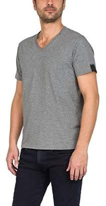 Replay Men's M3591 .000.2660 T-Shirt, (Dark Grey Melange M03), X