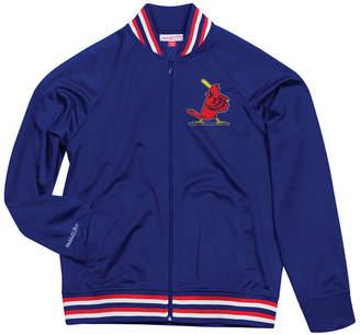 Mitchell & Ness Men's St. Louis Cardinals Top Prospect Track Jacket