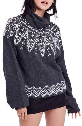Free People Treasure Turtleneck Sweater
