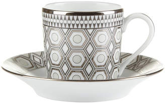 Haviland Hollywood Coffee Cup & Saucer