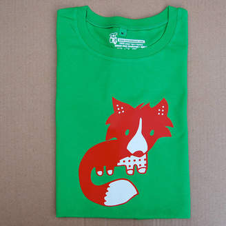 tee and toast Fox Adult T Shirt