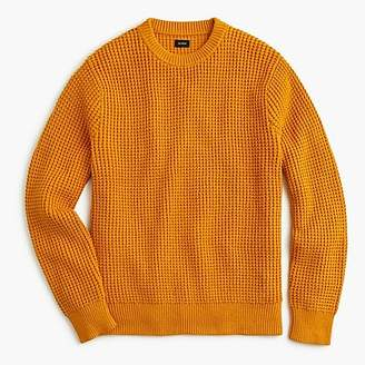 J.Crew Cotton thermal heavyweight sweater