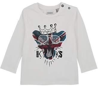 Ikks Infants' Lion-Print Cotton T-Shirt
