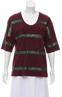 Dries Van Noten Striped Casual Sweatshirt