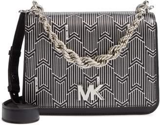 MICHAEL Michael Kors Mott Leather Top Handle Bag