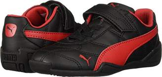 Puma Baby Tune Cat 3 Velcro Sneaker Black-Ribbon red