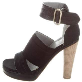 Reed Krakoff Pleated Platform Sandals
