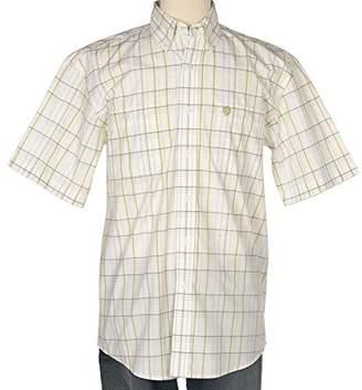 Wrangler Men's George Strait Short Sleeve Two Pocket Woven Shirt