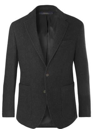 Polo Ralph Lauren Charcoal Morgan Slim-Fit Virgin Wool-Blend Blazer