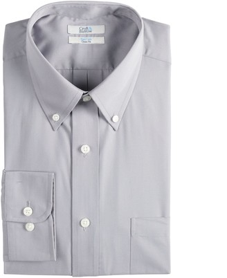 Croft & Barrow Men's Easy-Care Button-Down Collar Dress Shirt