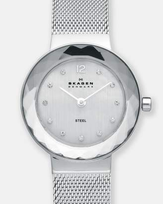 Skagen Leonora Silver-Tone Analogue Watch