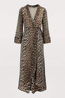Ganni Mullin wrap dress