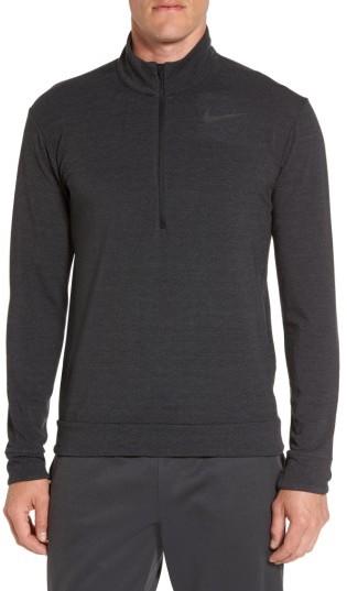Men's Nike Dry Training Quarter Zip Pullover