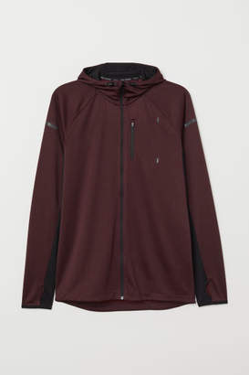 H&M Hooded Running Jacket - Red